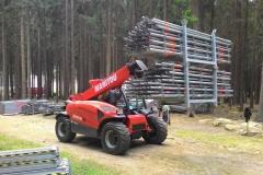 Příprava na Mistrovství světa v horských kolech