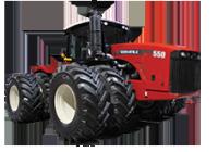 Kloubové traktory (450 – 550 hp)