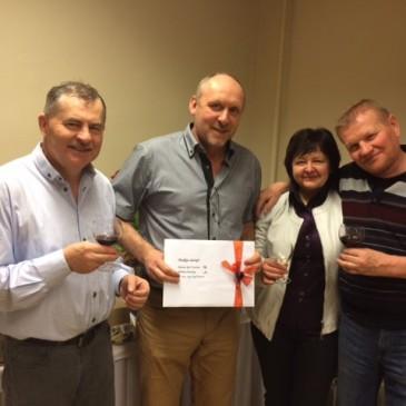 Blahopřání k oslavě panu Jaroslavu Michalovi