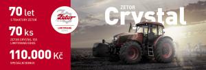 Zetor Limitovaná edice Crystal 150