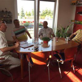 Návštěva zástupců města Bystřice nad Pernštejnem