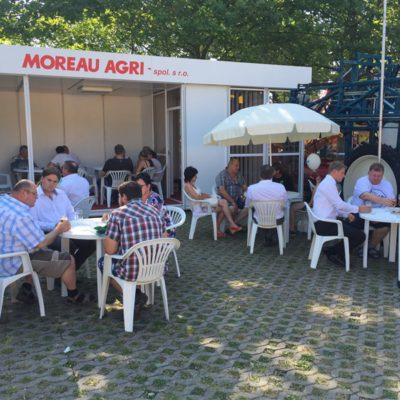 Moreau Agri stánek