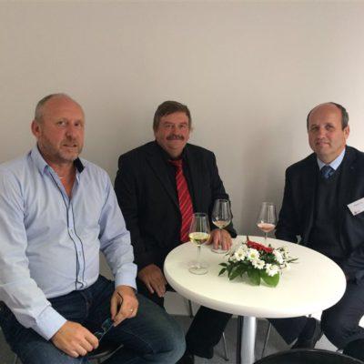 Zleva: Milan Hájek, Mgr. Ivo Teplý, Ing. Jaroslav Tvrz