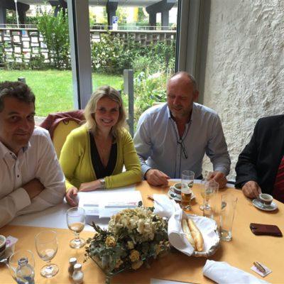 Zleva: Ing. Libor Joukl, Ing. Jana Fialová, Milan Hájek, Mgr. Ivo Teplý