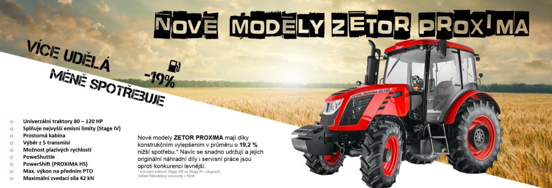 Nová modelová řada - Proximy