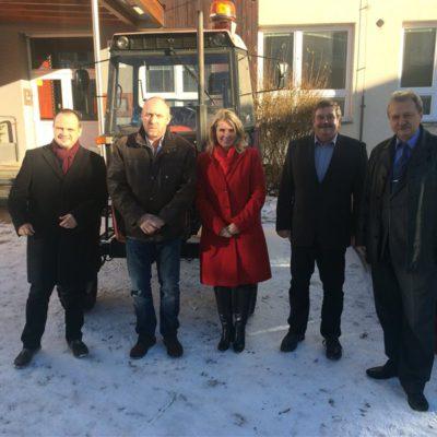 Zleva: Michal Šmarda, Milan Hájek, Jana Fialová, Ivo Teplý, Jan Míka