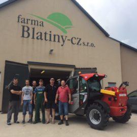 Farma Blatiny zakoupila již druhý Manitou MLT 625