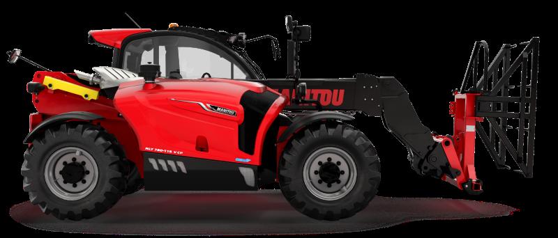 Nový kompakt Manitou MLT 730