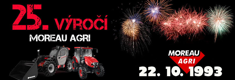 25. výročí MOREAU AGRI