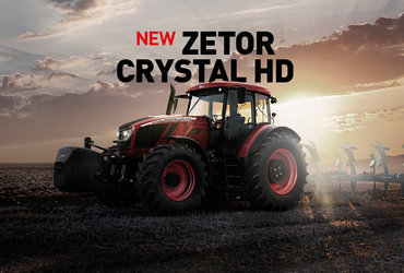 Nový Zetor CRYSTAL 2015 vs. CRYSTAL 2018