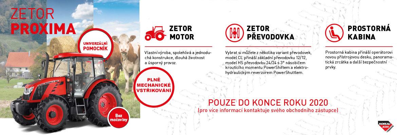 Zetor Proxima - bez močoviny