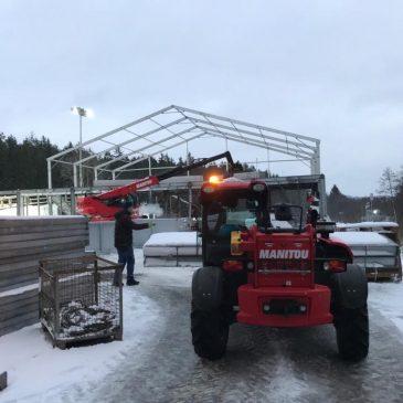 Příprava na IBU světový pohár v biatlonu