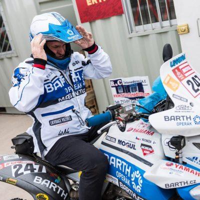 Josef Macháček ještě za stáj BARTH Racing